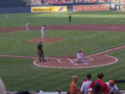 Oriole Park at Camden Yards, section: 40, row: 27, seat: 1