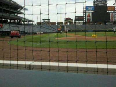 Coors Field section 127