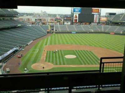 Coors Field section luxury suites