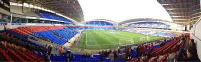 Macron Stadium, section: South Stand Lower, row: Z, seat: 41