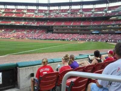 Busch Stadium, section: 166, row: c