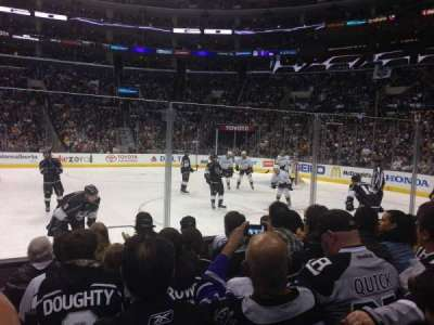 Staples Center, section: 119, row: 6, seat: 9