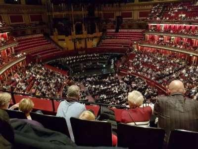 Royal Albert Hall section Rausing Circle S