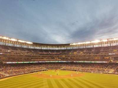 Target Field, section: 237, row: 1, seat: 9