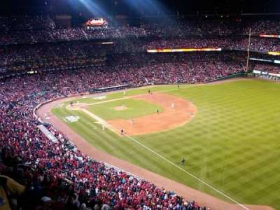 Busch Stadium, section: 434, row: 4, seat: 3