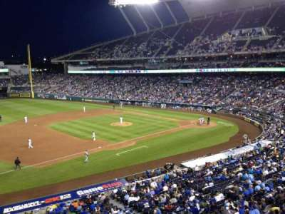 Kauffman Stadium section 303