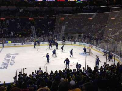 Scottrade Center, section: 102, row: U, seat: 2