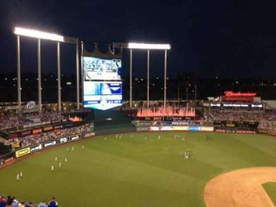 Kauffman Stadium section 407