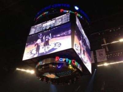 Barclays Center, section: 7, row: 4