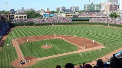 Wrigley Field, section: 424, row: 5, seat: 8