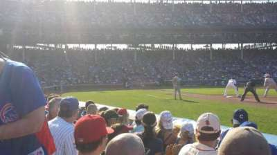 Wrigley Field, section: 34, row: 1, seat: 6