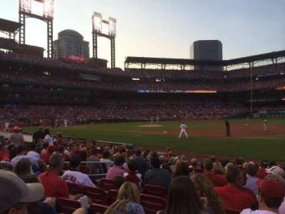 Busch Stadium section 140D