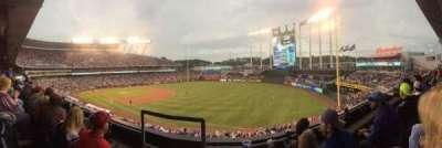 Kauffman Stadium, section: 324, row: B, seat: 1