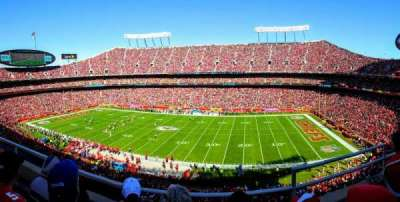 Arrowhead Stadium, section: 322, row: 3, seat: 2