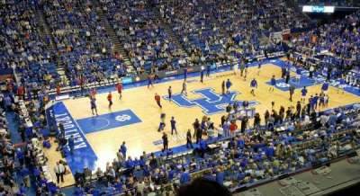 Rupp Arena, section: 215, row: D, seat: 20