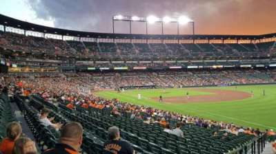 Oriole Park at Camden Yards section 8