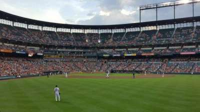 Oriole Park at Camden Yards section 96