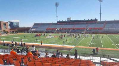 Doyt Perry Stadium, section: 11, row: 25, seat: 28