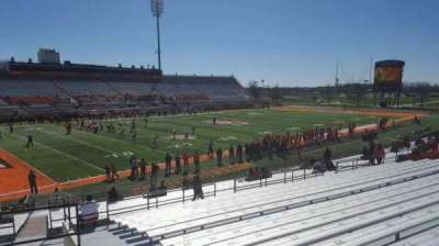 Doyt Perry Stadium, section: 21, row: 27, seat: 2