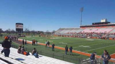 Doyt Perry Stadium, section: 22, row: 11, seat: 1