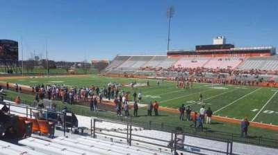 Doyt Perry Stadium, section: 20, row: 19, seat: 10