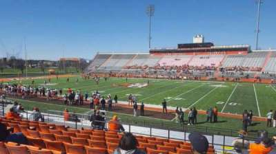 Doyt Perry Stadium, section: 18, row: 22, seat: 29