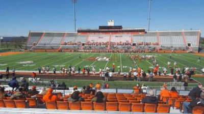 Doyt Perry Stadium, section: 16, row: 27, seat: 20