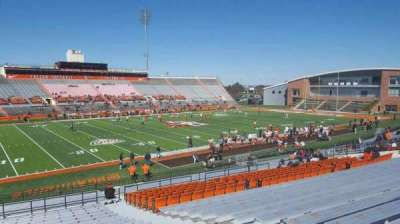 Doyt Perry Stadium, section: 10, row: 33, seat: 5