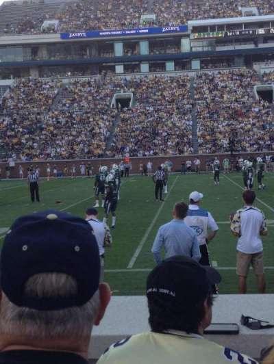Bobby Dodd Stadium, section: 128, row: 4, seat: 18