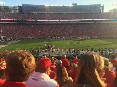 Sanford Stadium, section: 108, row: 45, seat: 13