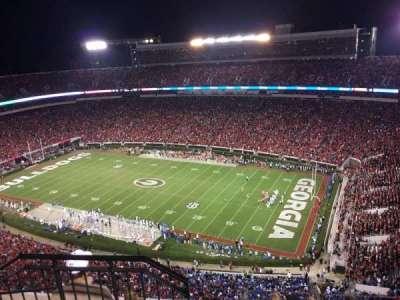 Sanford Stadium, section: 602, row: 6, seat: 20
