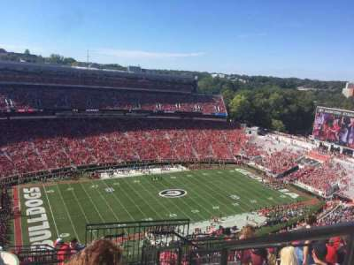 Sanford Stadium section 611