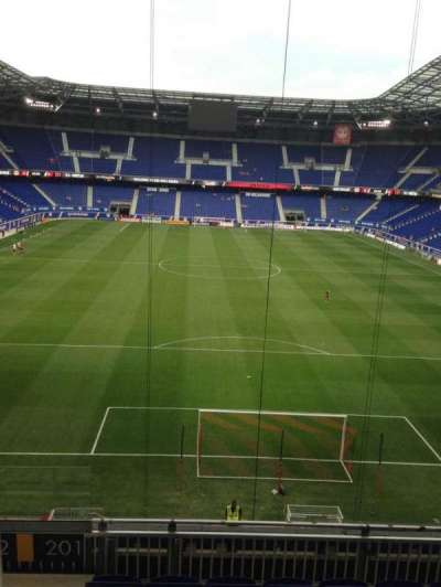 Red Bull Arena section 201