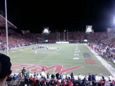 Arizona Stadium, section: 27, row: 23, seat: 10