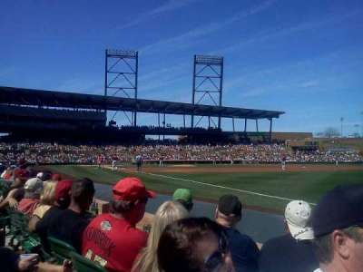 Salt River Fields, section: 101, row: 3, seat: 6