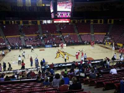 Wells Fargo Arena (Tempe), section: G, row: 17