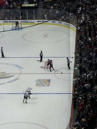 Gila River Arena, section: 222, row: O, seat: 1