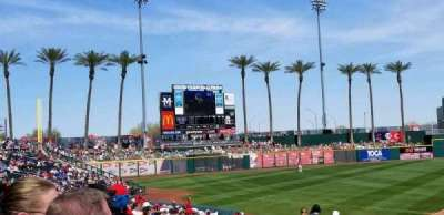 Goodyear Ballpark, section: 105