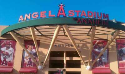 Angel Stadium section entrance