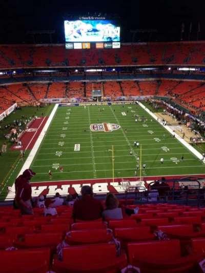 Hard Rock Stadium, section: 401, row: 19, seat: 6
