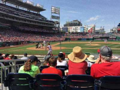 Nationals Park, section: 127, row: K, seat: 1 thru 4