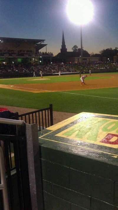 Fluor Field, section: 116, row: E, seat: 14