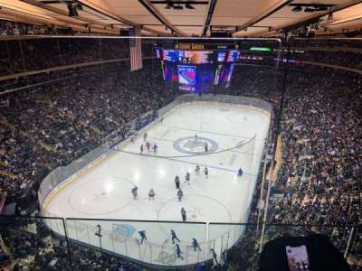 Madison Square Garden section 321