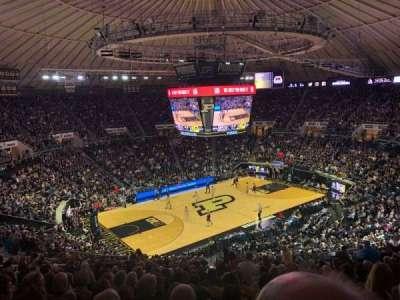 Mackey Arena section 112
