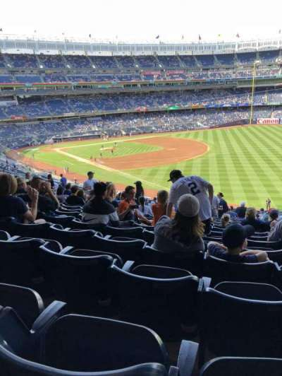 Yankee Stadium section 210