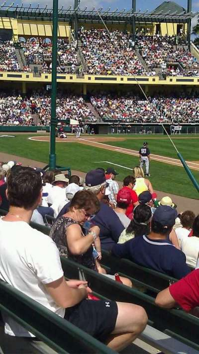 Champion Stadium, section: 108, row: L, seat: 5