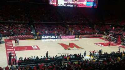 Xfinity Center (Maryland), section: 113, row: 18, seat: 19