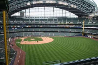 Miller Park, section: 305, row: 7, seat: 3