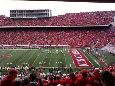 Camp Randall Stadium, section: Q, row: 68, seat: 15