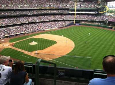 Miller Park, section: 409, row: 4, seat: 13